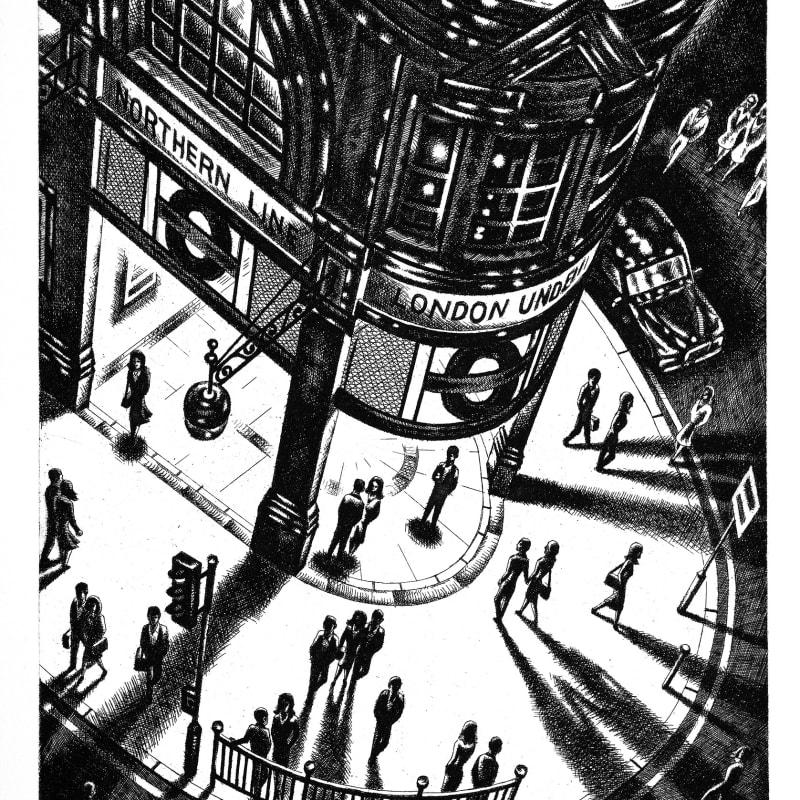 John Duffin RE, Tube Shadows