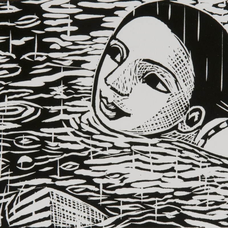 Anita Klein PPRE Hon. RWS, Swimming in the Rain