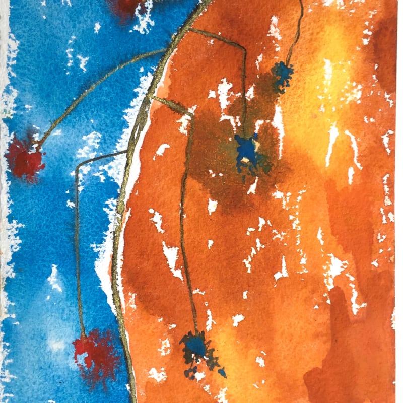 Anne Lynch ARWS, Blue Beside Orange