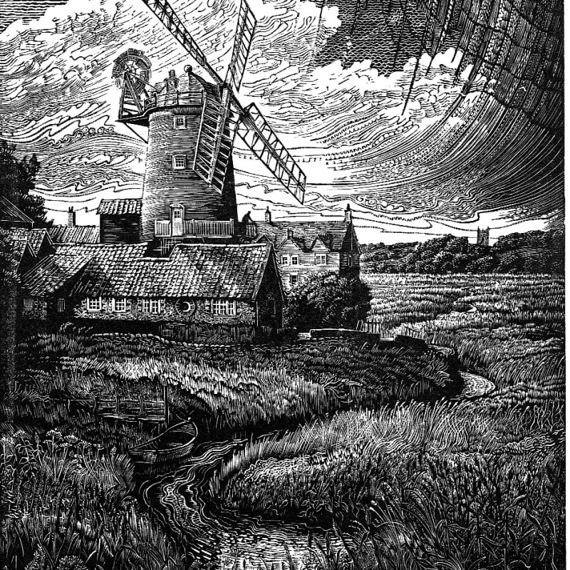 John Bryce RE, Windmill and Reedbeds