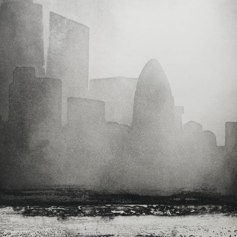 Jason Hicklin RE, The Thames, Sunrise