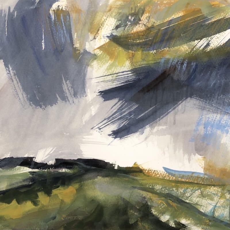 Lucy Marks ARWS, Golden Fields and Rain