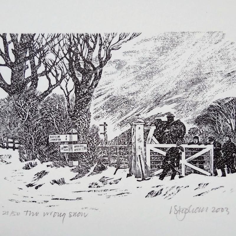 Ian Stephens RE, The Wrong Snow