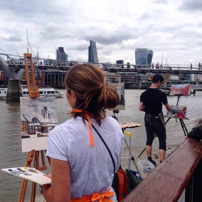 EVENT: River Thames Walk & Draw