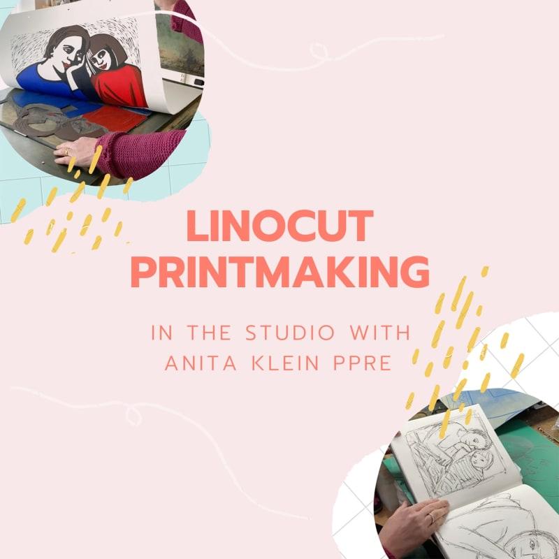 Linocut Printing: In the Studio with Anita Klein