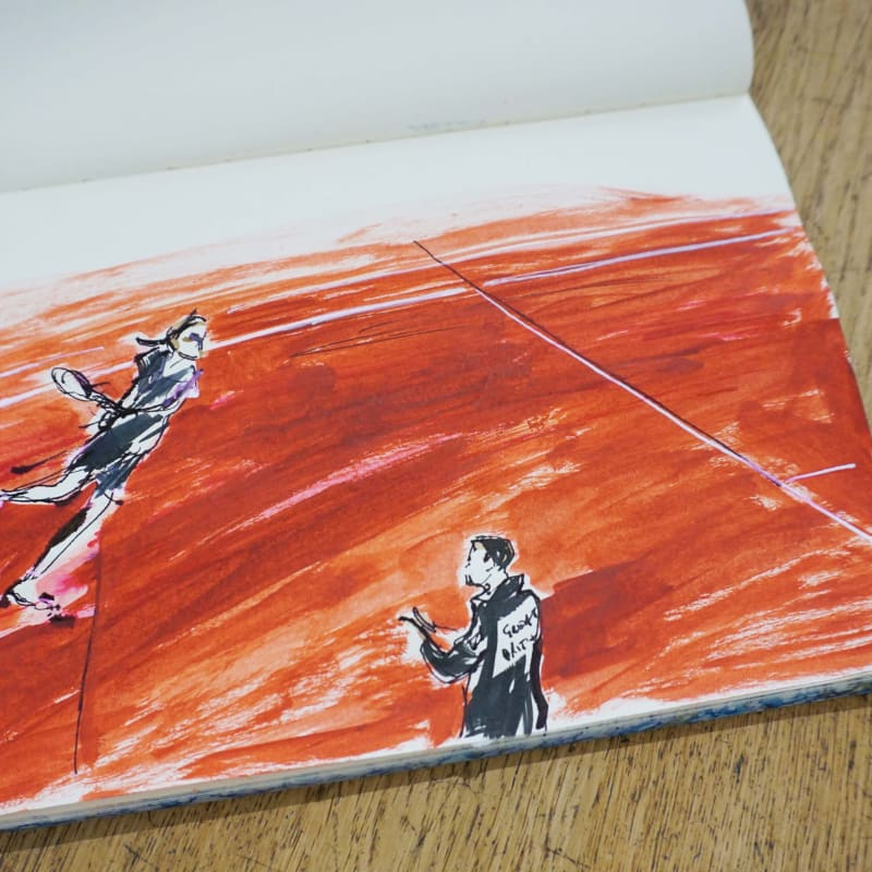 Inside my sketchbook: Julia Midgley