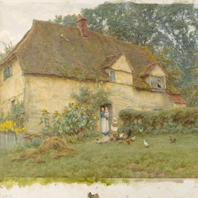 RWS Archive in Focus: Helen Allingham (1848-1926)