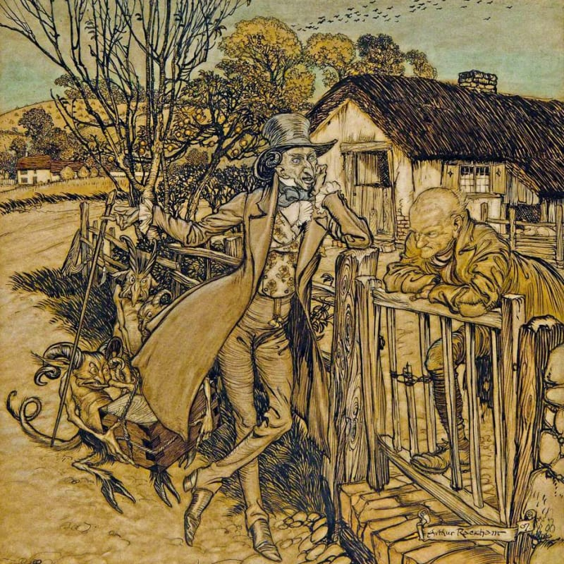 RWS Archive in Focus: Arthur Rackham (1867-1939)