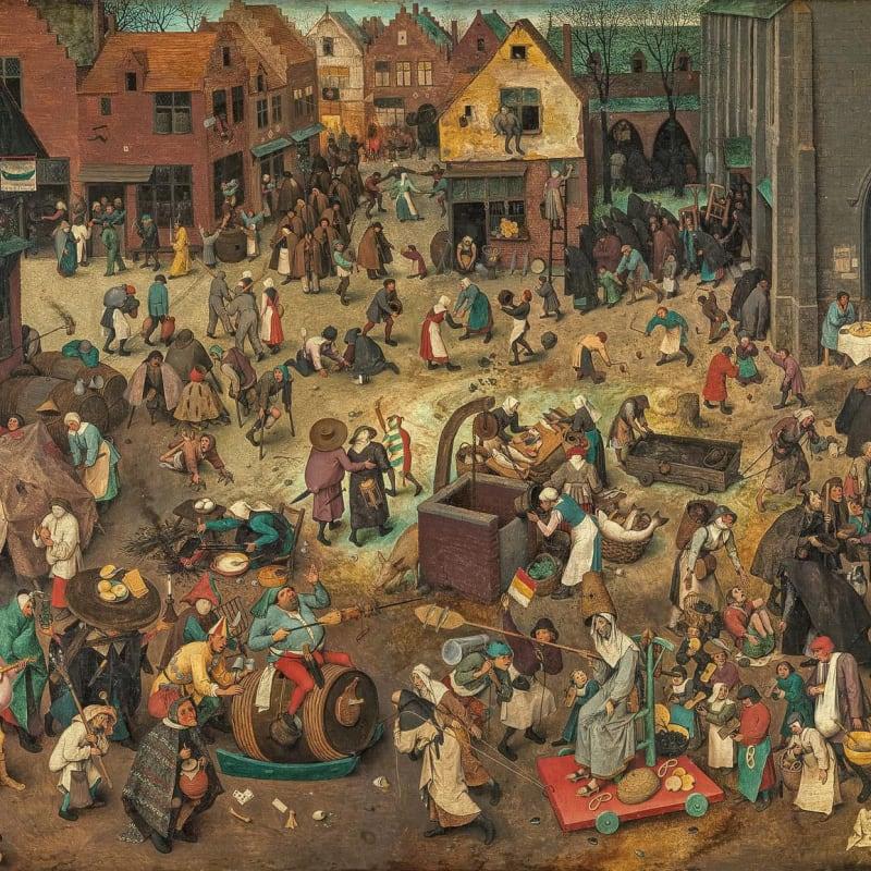 Mychael Barratt PPRE's #LockdownLibrary: Pieter Bruegel, c 1525-30 - 1569