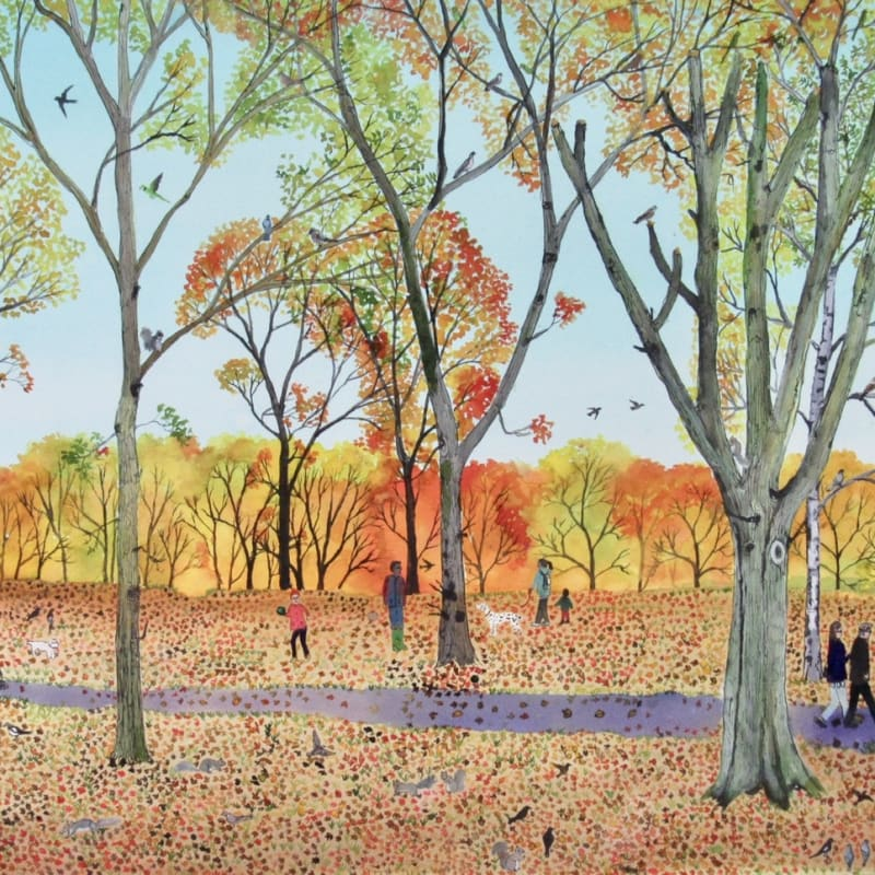 Browse RWS artworks by theme: Autumn