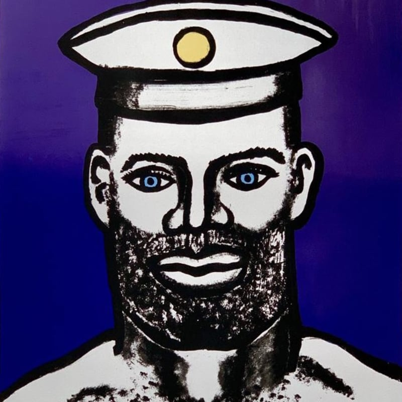Holly Johnson, Silver Sailor, silkscreen