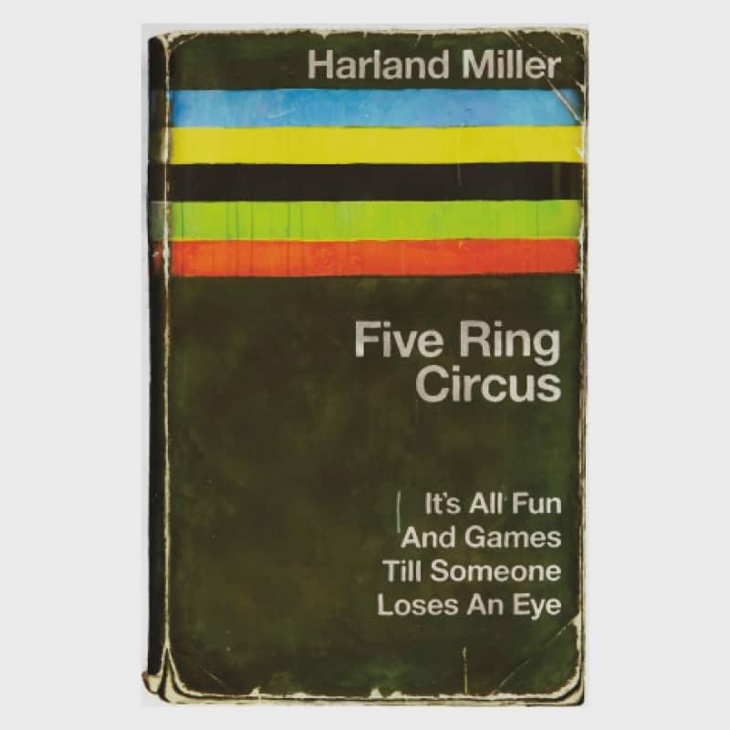 Artwork image: HARLAND MILLER Five Ring Circus