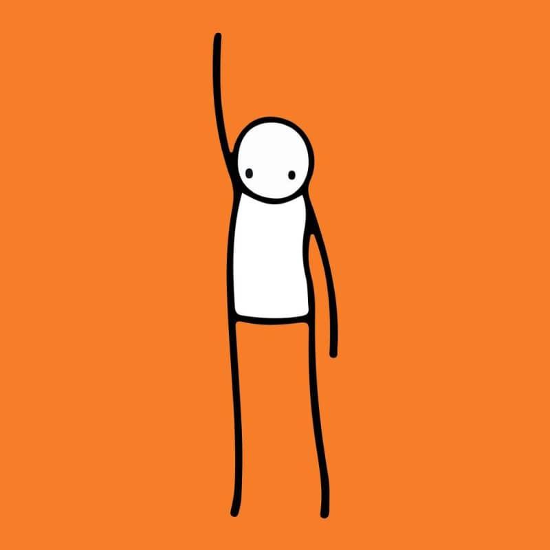 Artwork image: STIK Liberty (Orange)