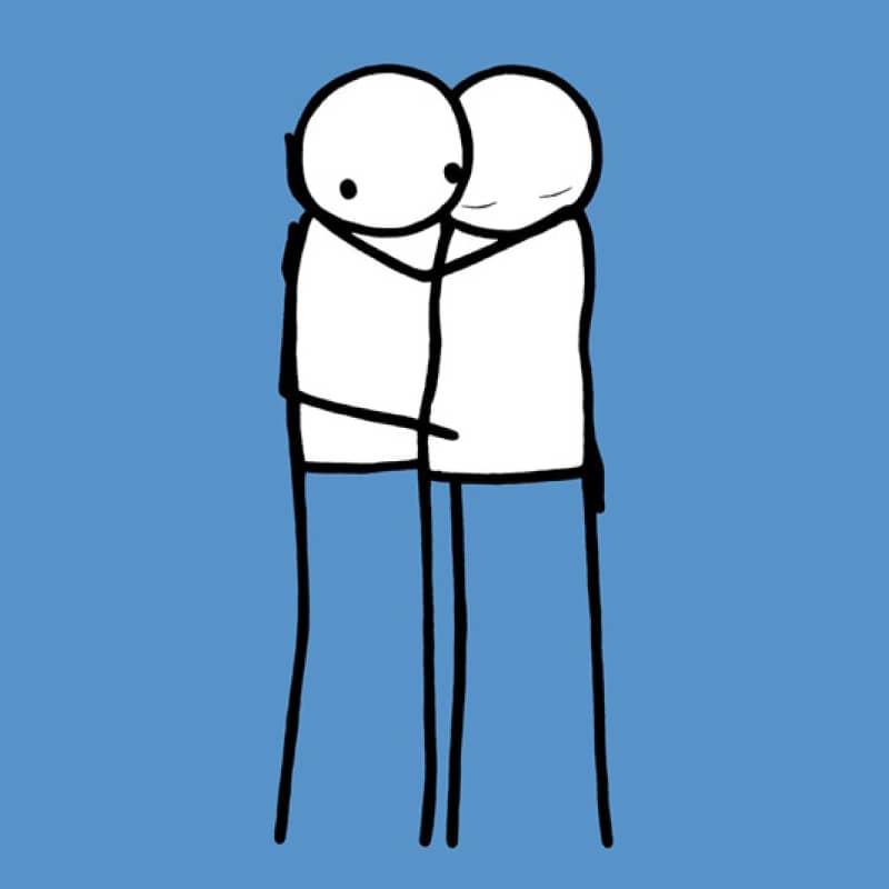 Artwork image: STIK Lovers (Blue)