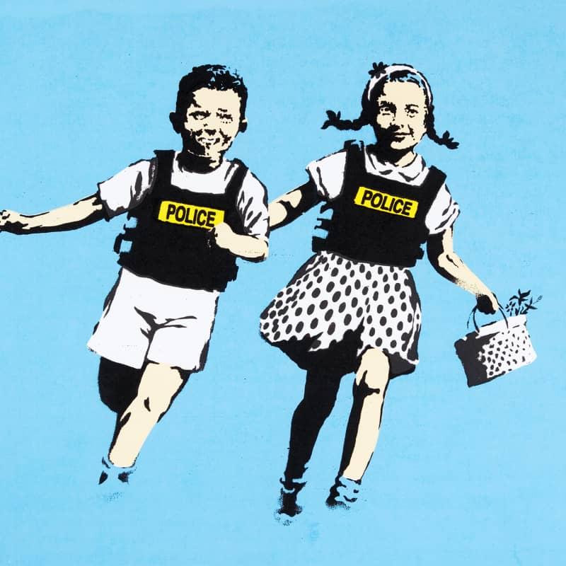 Artwork image: Banksy Jack & Jill
