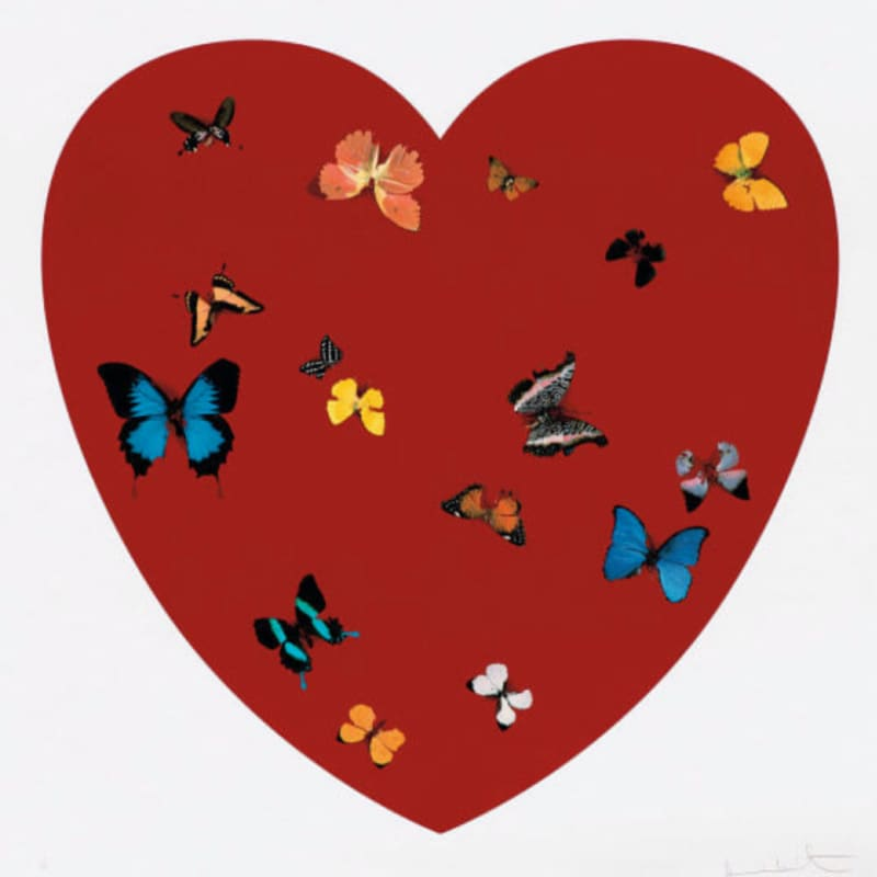 Artwork image: DAMIEN HIRST Big Love