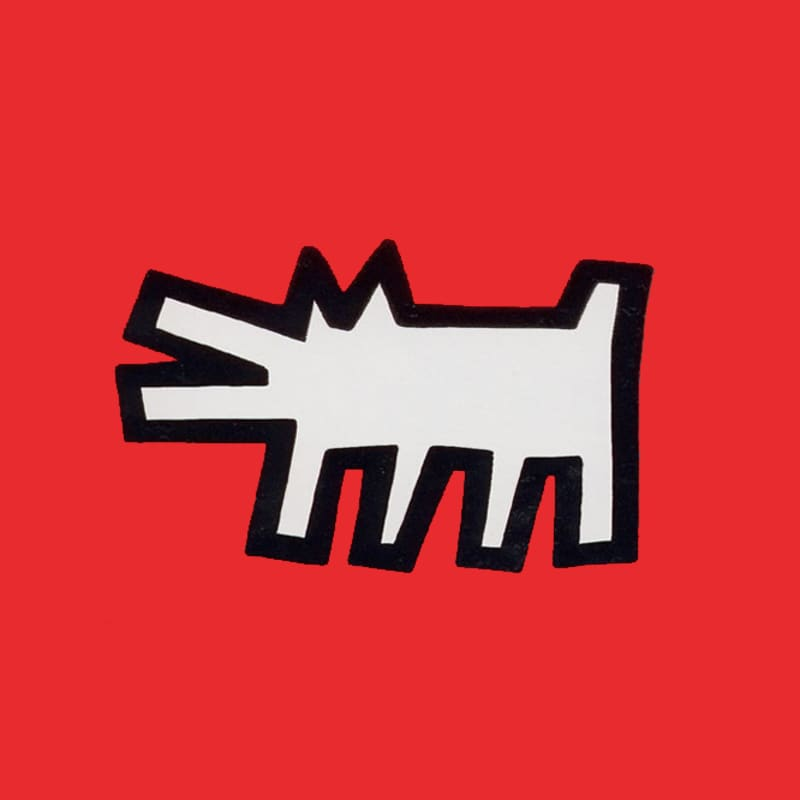 Artwork image: KEITH HARING Icons