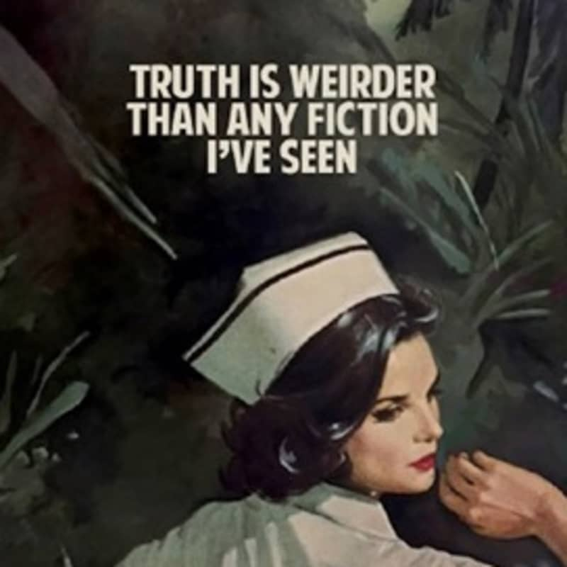 Artwork image: THE CONNOR BROTHERS The Truth Is Weirder Than Any Fiction I Have Seen