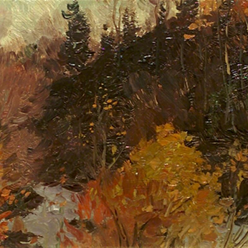 Sketch at Tumbling Waters-A. Wilkie Kilgour