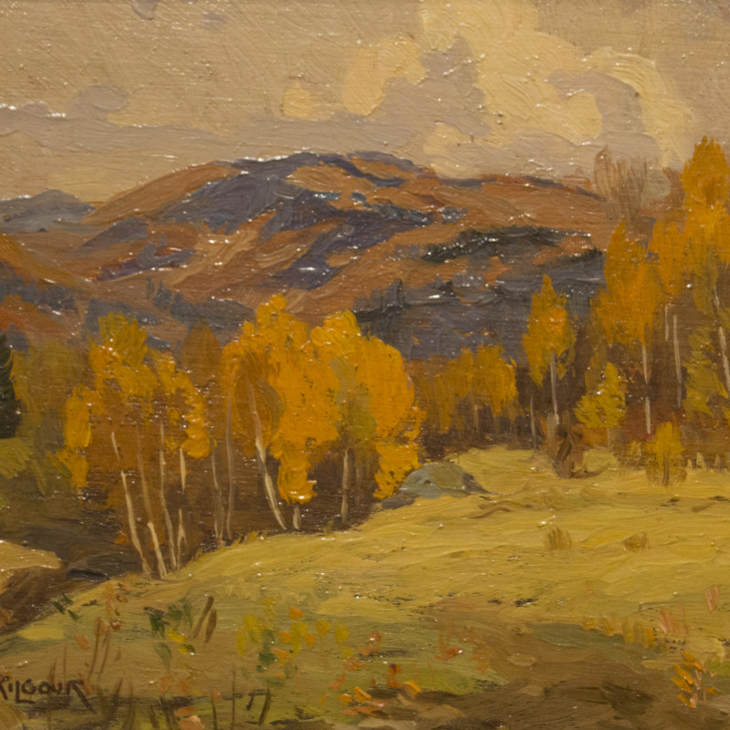 Sketch at Val Morin-A. Wilkie Kilgour