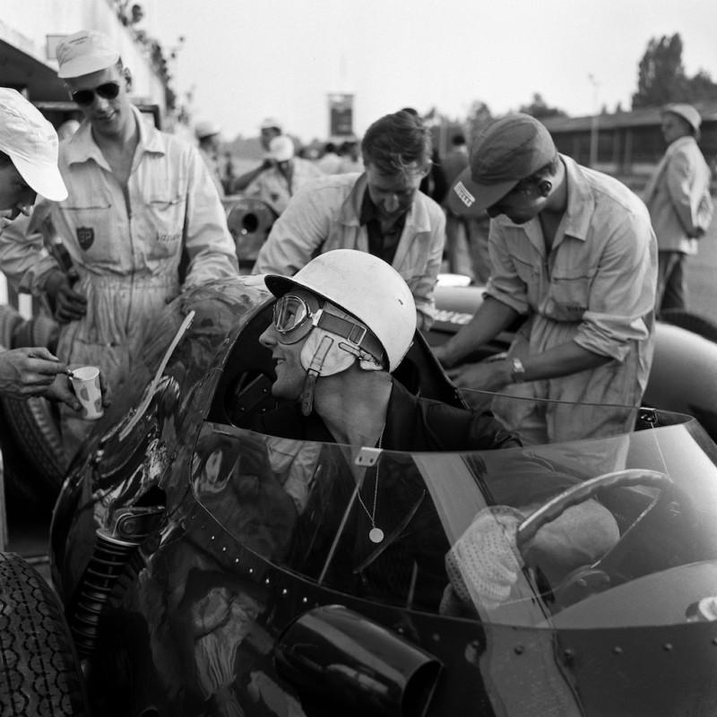 STIRLING MOSS (VANWALL), MONZA, 1958