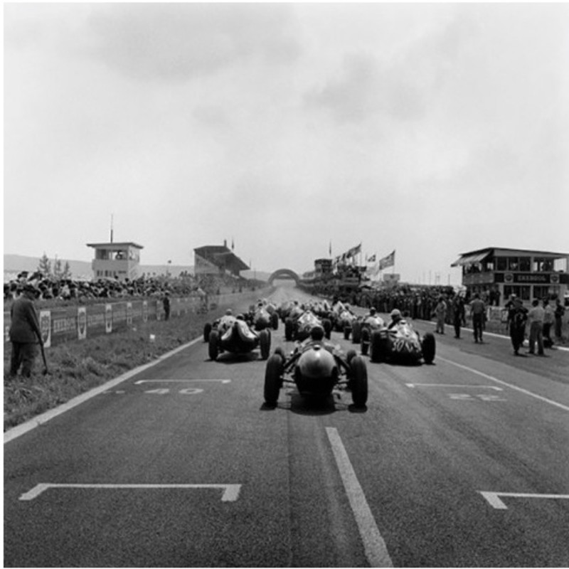 Start, Grand Prix of France, Reims, 1958