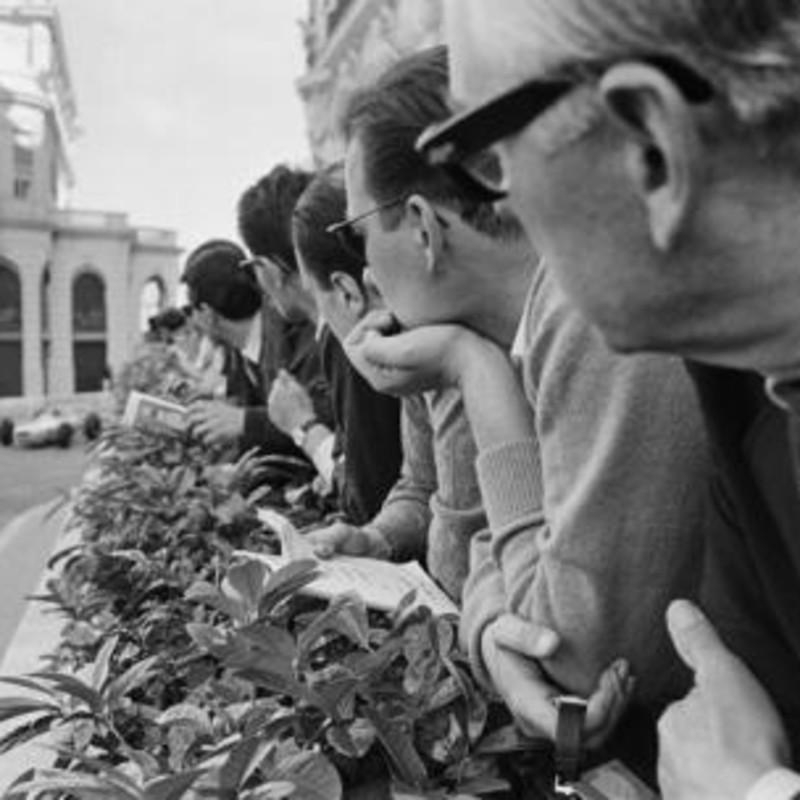 SPECTATORS, MONACO, 1962