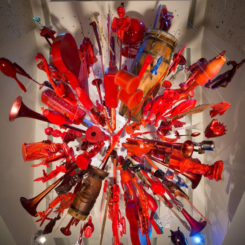 (266) Suspended Sculpture II, 2014