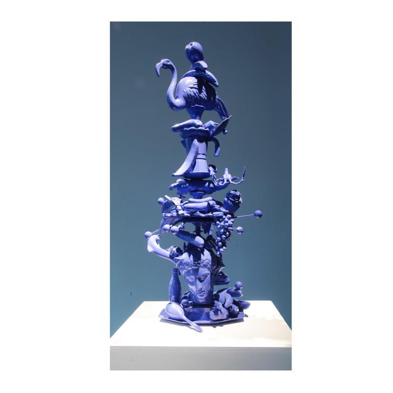 Totem Atomic (Bronze sculpture), 2011