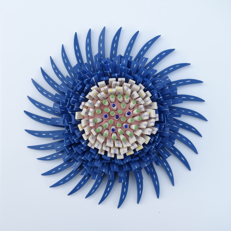 Zemer Peled, Flower Power 7, 2017