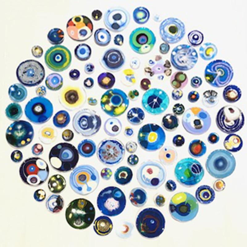 Klari Reis - Hypochondria Blue, 90 pieces, 2018