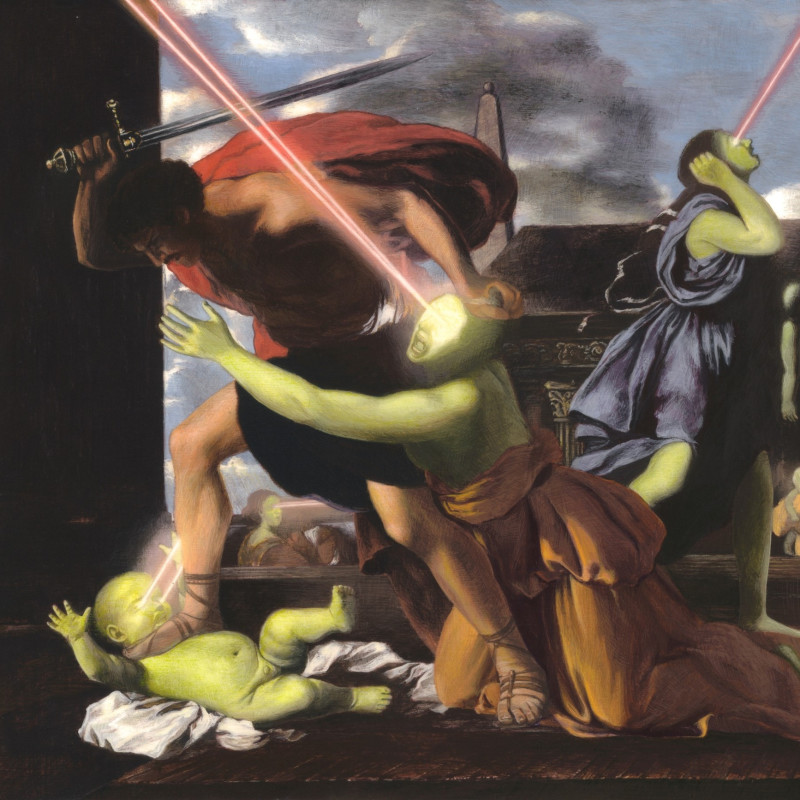 Adam Mysock, Having Found the Lowest Threshold (St. George Slaying the Dragon), 2013