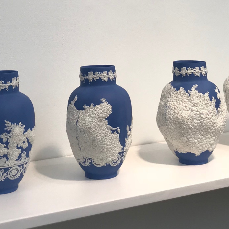 Alissa Volchkova, The Beautiful Unperfected - Wedgwood Series 2 (Blue), 2018