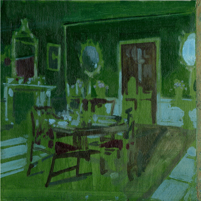 Eleanor Watson, Green Afternoon, 2018
