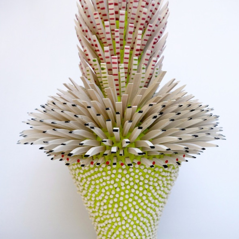 Zemer Peled, Shards Flower No. 1, 2016