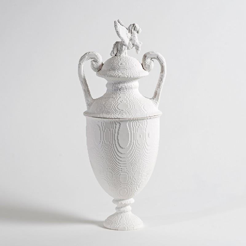Matt Davis, 'Wedesus' lidded urn, 2017