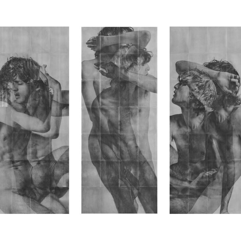 Rad Husak, Mirrored Decline [Triptych], 2018