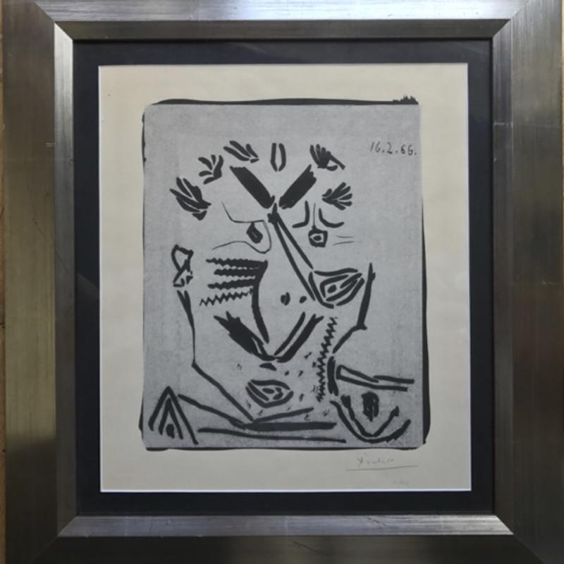 Pablo Picasso, Notre Dame de Vie or Portrait d'homme, 1966