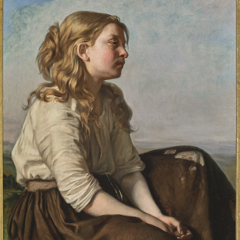 YOUNG PEASANT GIRL (UNE JEUNE FILLE DES CHAMPS)