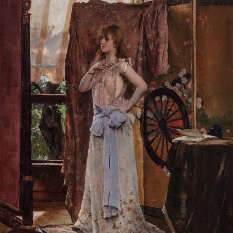 AN ACTRESS (LA COMÉDIENNE)