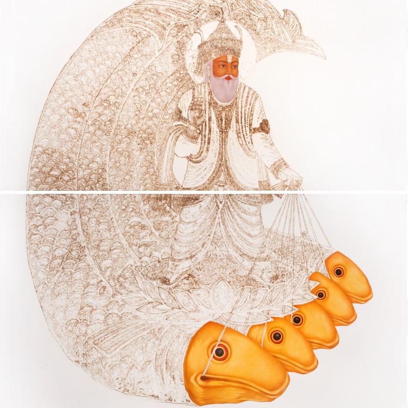 <span class=&#34;artist&#34;><strong>Mohammed Zeeshan</strong></span>, <span class=&#34;title&#34;><em>Jhulelal II</em>, 2014</span>