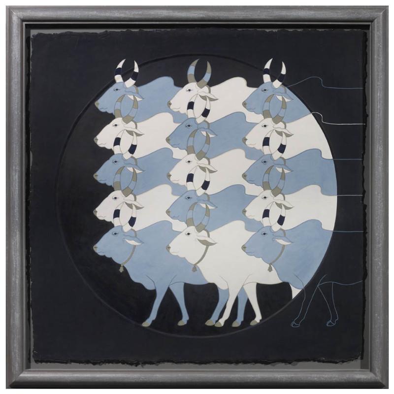 <span class=&#34;artist&#34;><strong>Olivia Fraser</strong></span>, <span class=&#34;title&#34;><em>Dusk</em>, 2012</span>