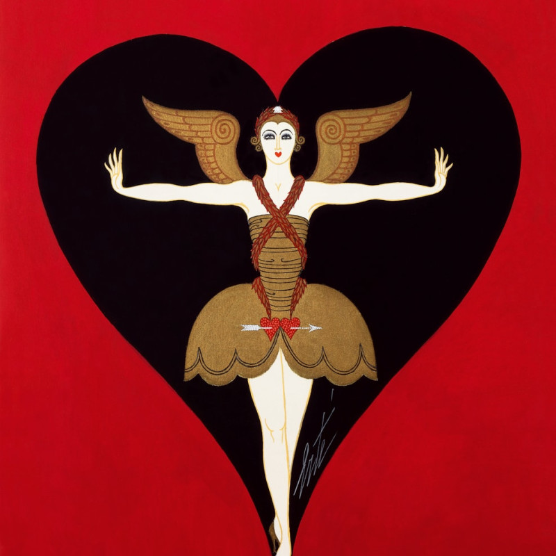 Romain de Tirtoff dit Erté, Costume design for Manhattan Mary, 1927