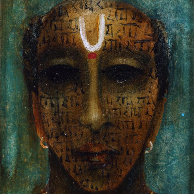 <span class=&#34;artist&#34;><strong>Anjolie Ela Menon</strong></span>, <span class=&#34;title&#34;><em>Pujari</em>, 2013</span>