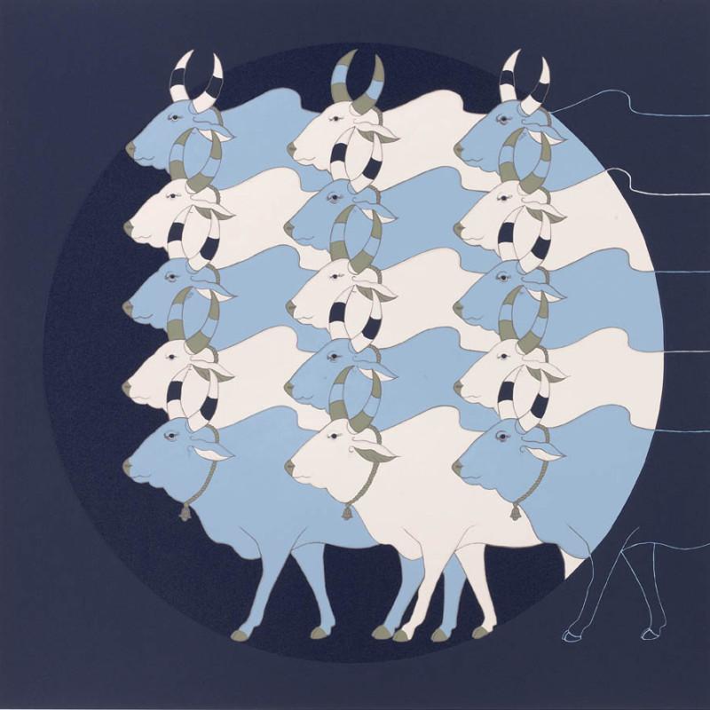 <span class=&#34;artist&#34;><strong>Olivia Fraser</strong></span>, <span class=&#34;title&#34;><em>Blue Dawn</em>, 2012</span>