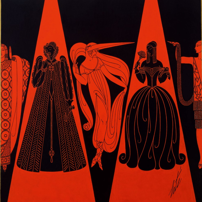<span class=&#34;artist&#34;><strong>Romain de Tirtoff dit Ert&#233;</strong></span>, <span class=&#34;title&#34;><em>Les Modes se suivant et ne se ressemblent pas</em>, 1926</span>