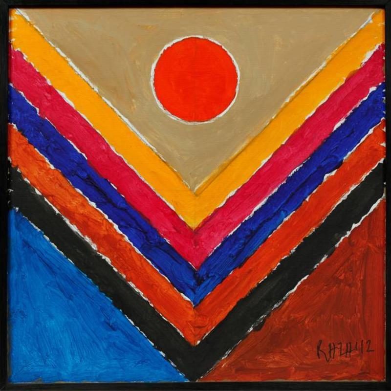 <span class=&#34;artist&#34;><strong>Sayed Haider Raza</strong></span>, <span class=&#34;title&#34;><em>Tree</em>, 2012</span>