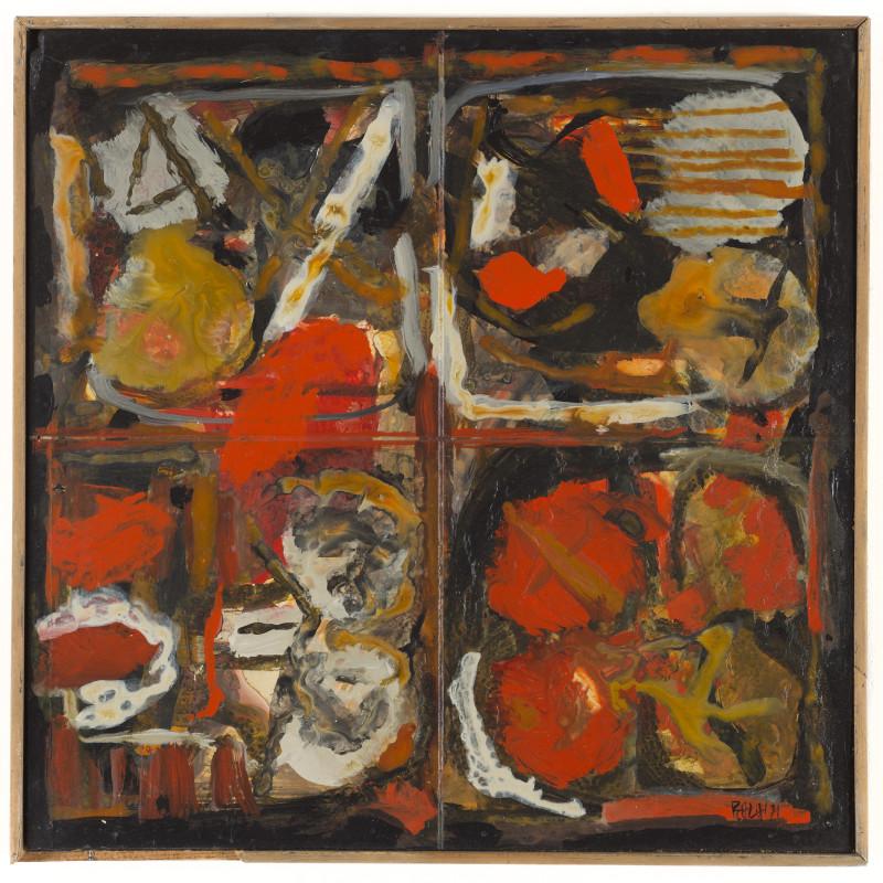 <span class=&#34;artist&#34;><strong>Sayed Haider Raza</strong></span>, <span class=&#34;title&#34;><em>Composition</em>, 1971</span>