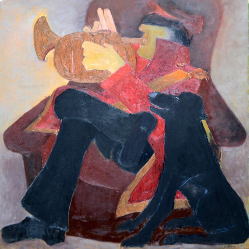 <span class=&#34;artist&#34;><strong>Krishen Khanna</strong></span>, <span class=&#34;title&#34;><em>Cornet Solo</em>, 2015</span>