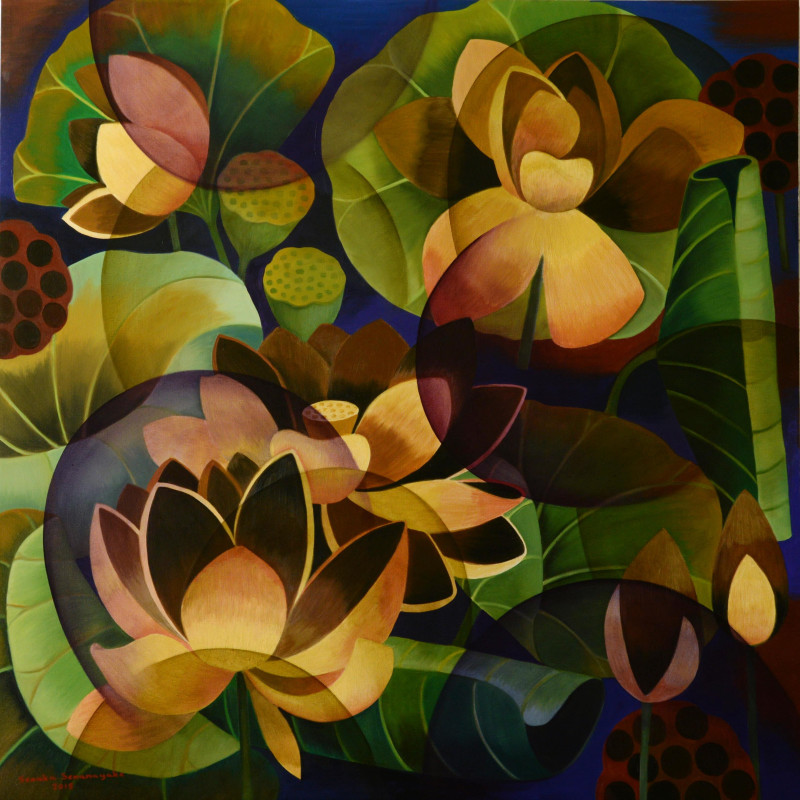 <span class=&#34;artist&#34;><strong>Senaka Senanayake</strong></span>, <span class=&#34;title&#34;><em>Lotus</em>, 2015</span>
